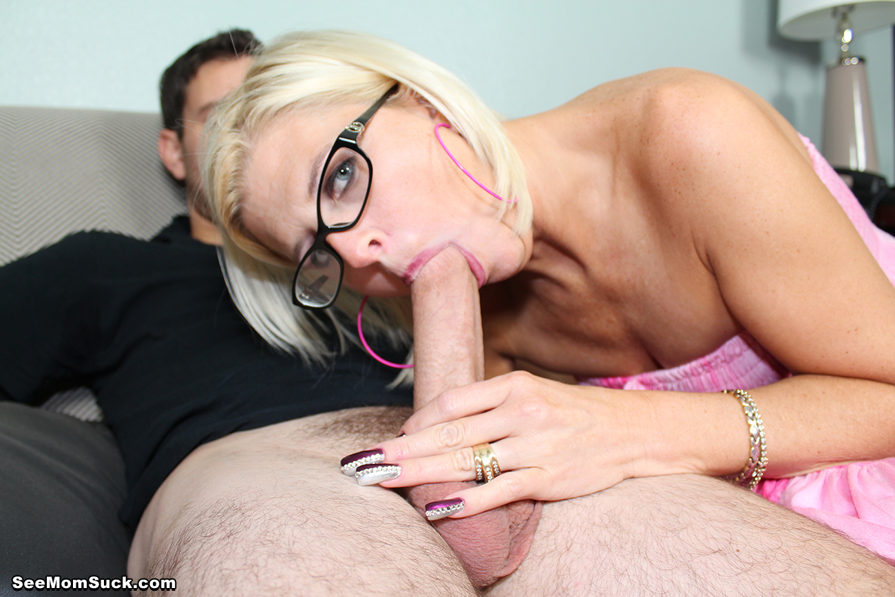 Mother blowjob