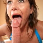 Mrs. Valentina Sucks Cum Out of a Big Cock