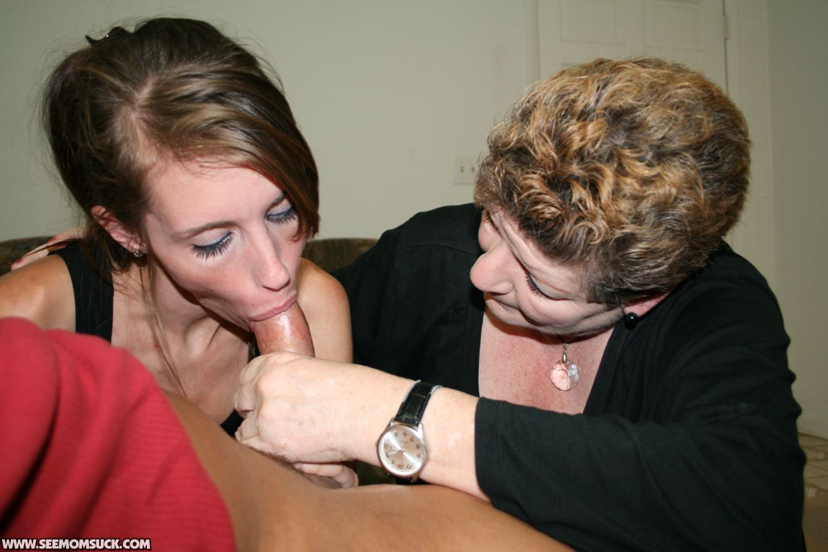 blowjob and old lady