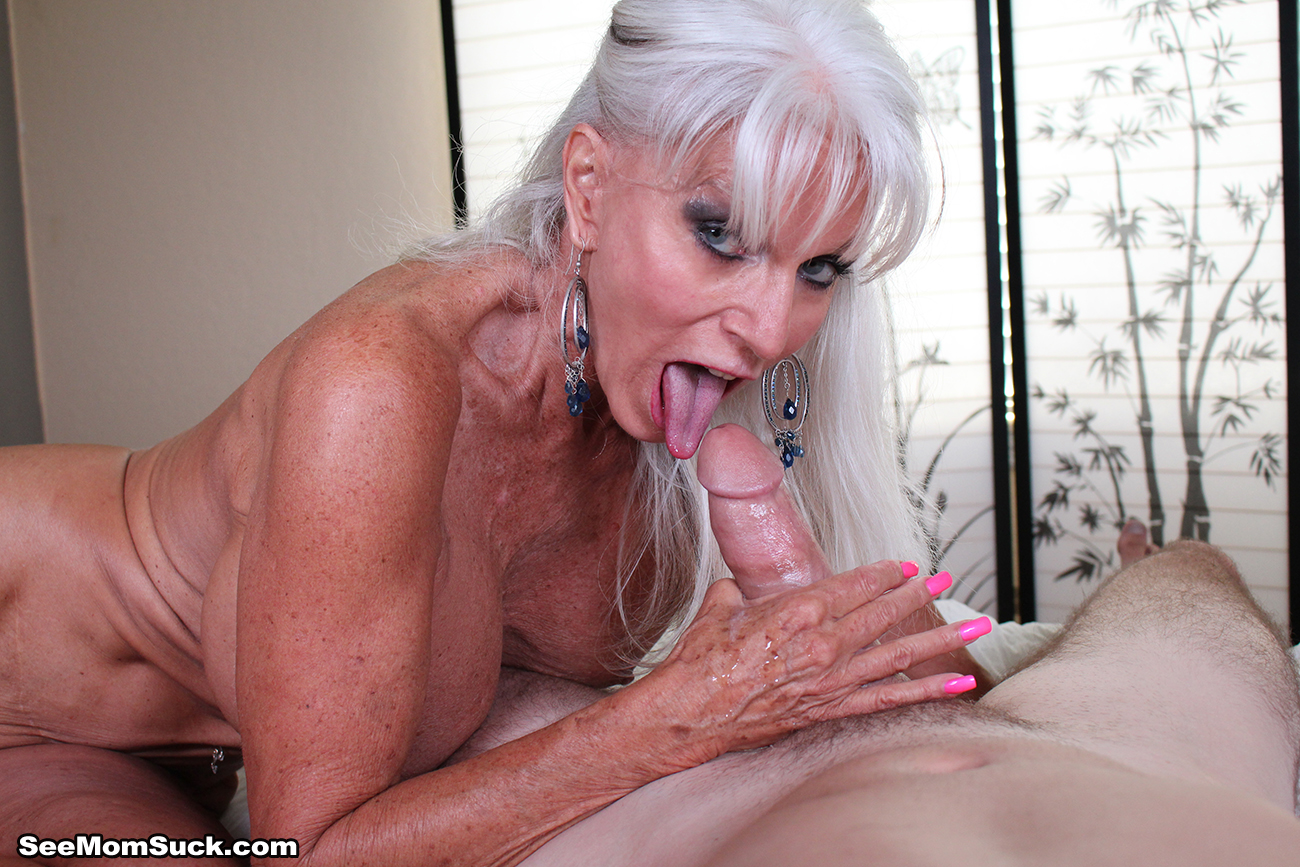 Mature mom and boy video