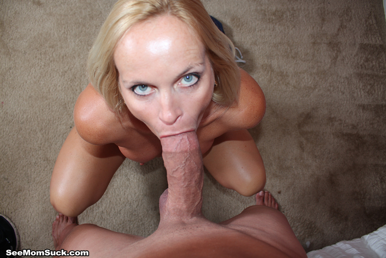 Cocksucking Milf Choking On A Huge Cocks