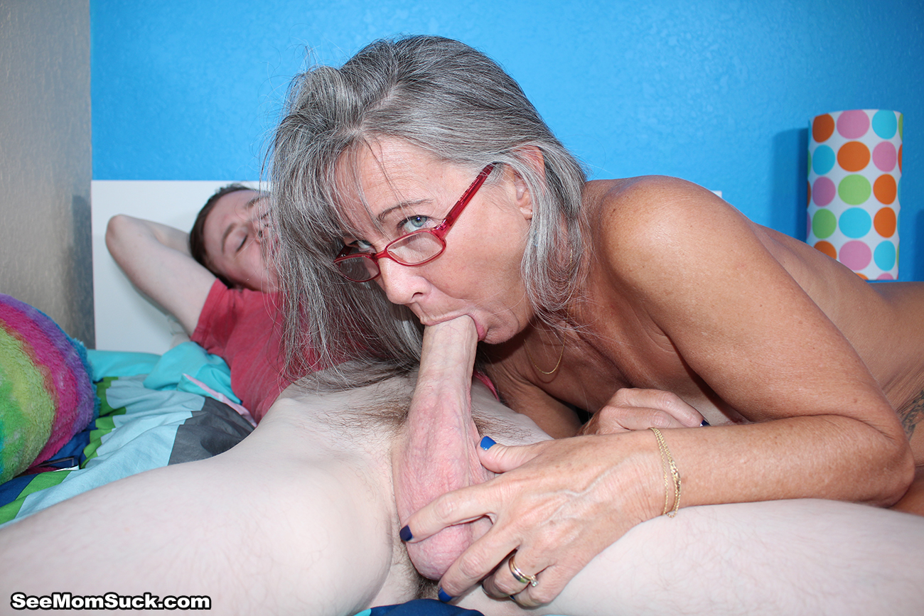 Mom who swallow sons slut load