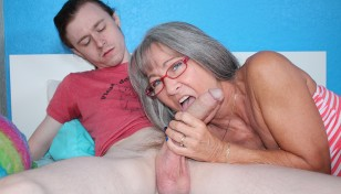 Leilani Lei gives her step son oral