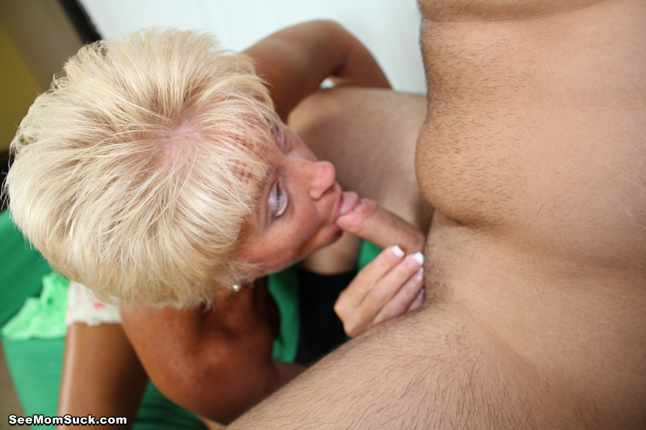 Blonde milf manages to handle 2 guys 10
