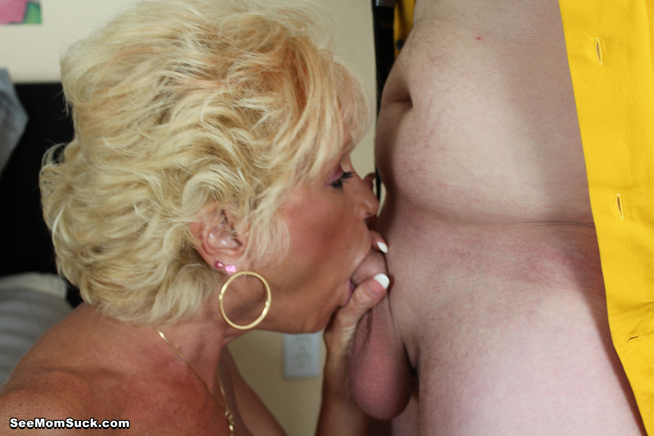 Have See mom suck hot