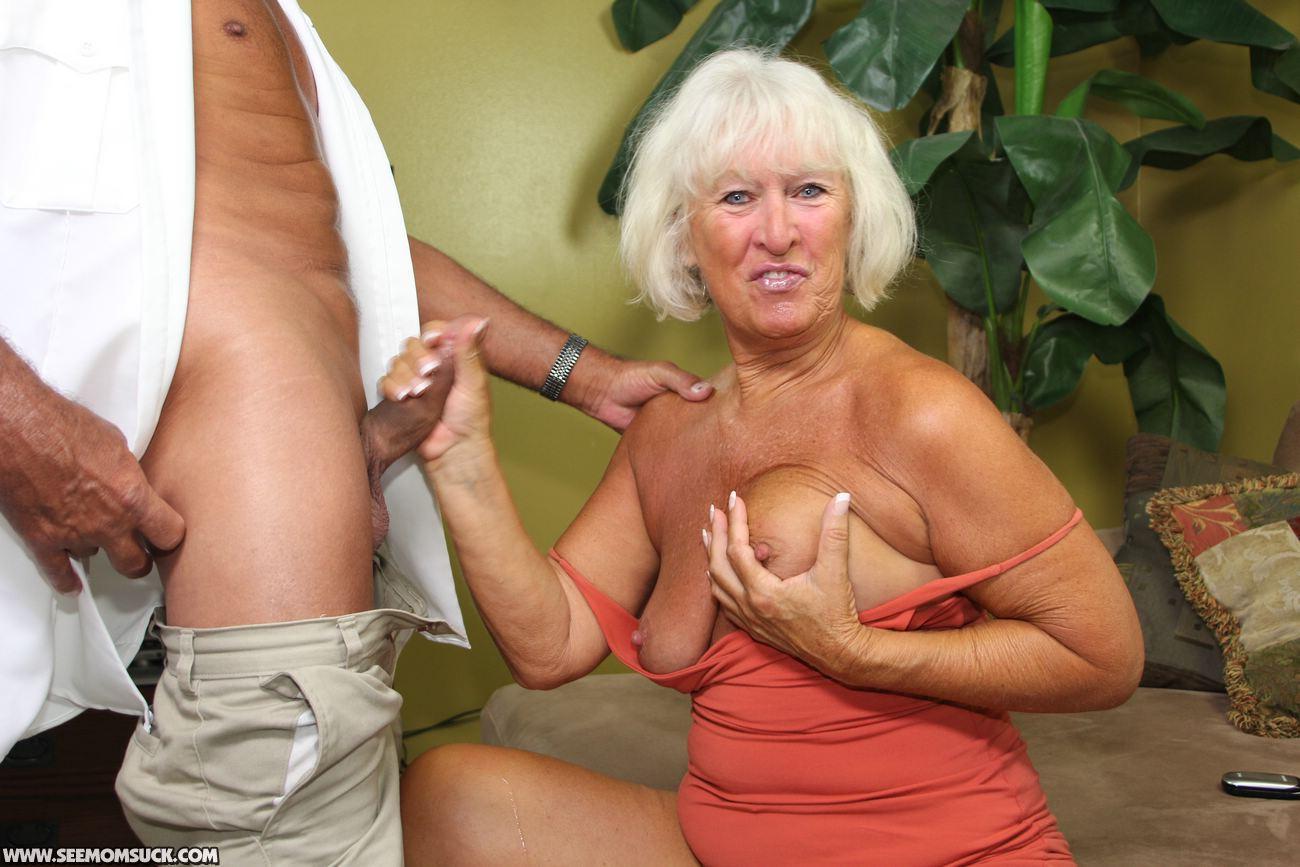Big tits threesome cum shot
