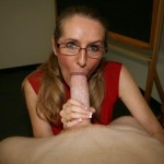 MILF Sara James Gives A Superb Classroom Blowjob