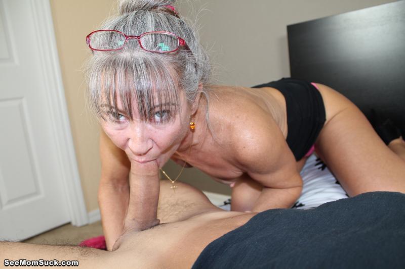 Bukkake sucking dick gym oral