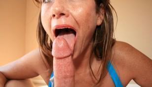 Valentina licks cut cock