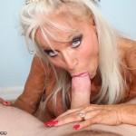 Sally D'Angelo Chokes On A Big Boner