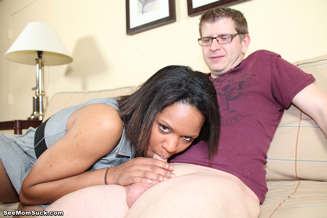 Black Step Mom Fucks Black Son