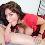 Busty Charlee Chase Sucks Cock and Gets Her Big Tits Blasted with Cum