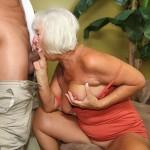 Jeannie Lou sucking cock