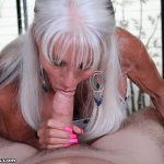 Sally D'Angelo Gets Off A Younger Man With Her Mouth