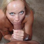 Dani Dare Gags On A Giant Cock