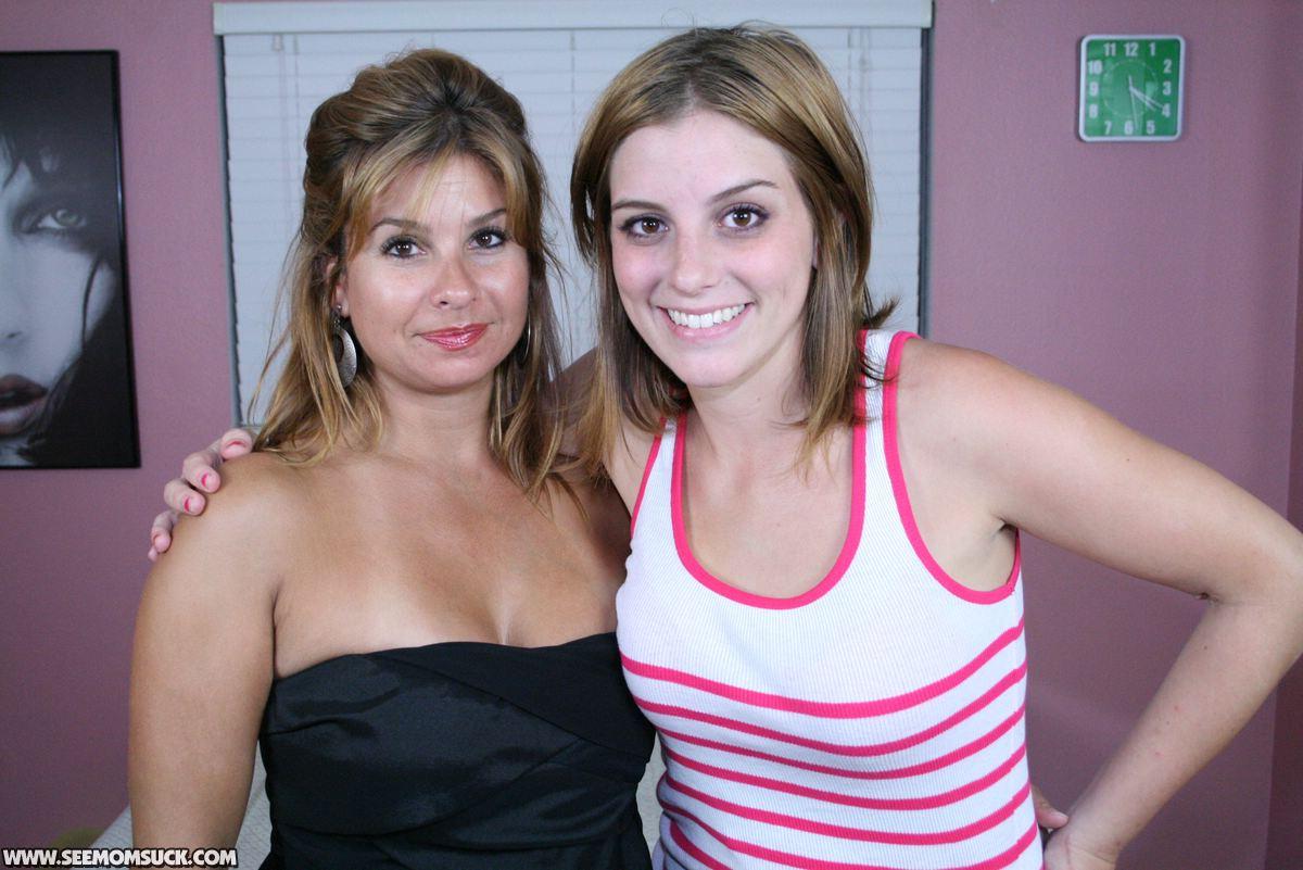 MILF cassandra and teen daughter Breanna