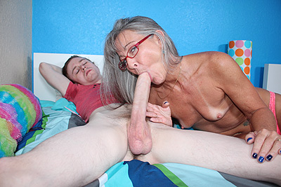 Son wants mom to suck his dick roleplay