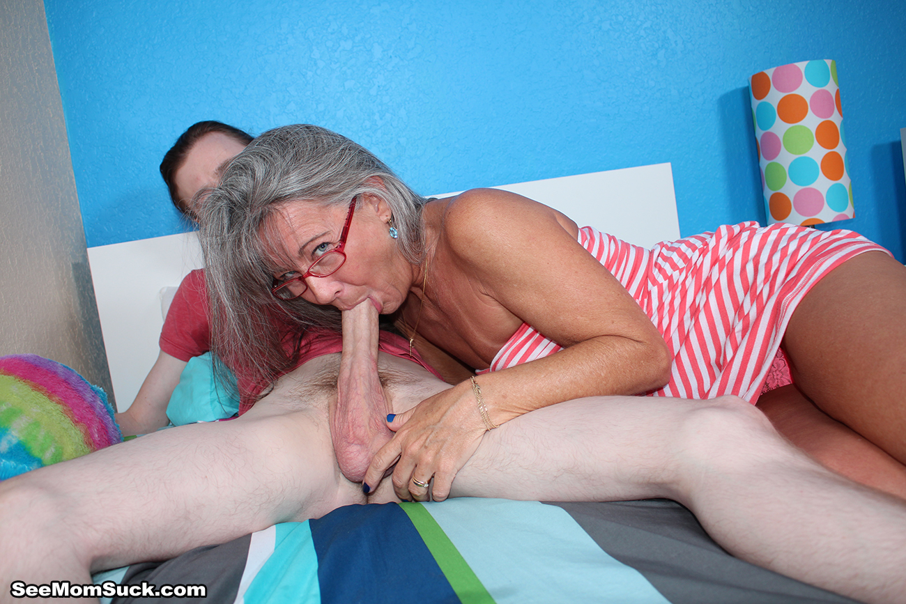 Mum Sucks Not Her Son's Cock