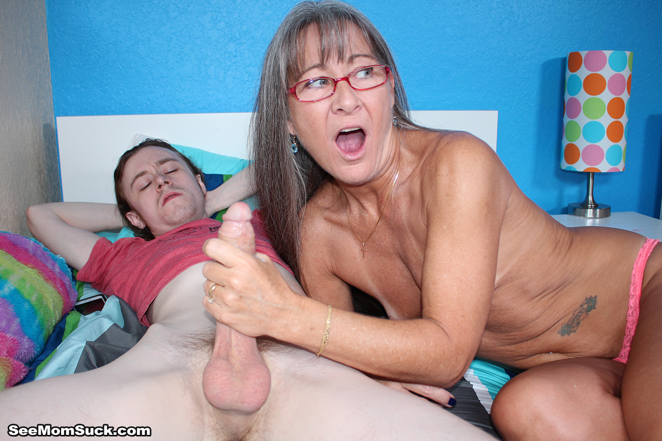 want your cock sucked step son at seemomsuck com
