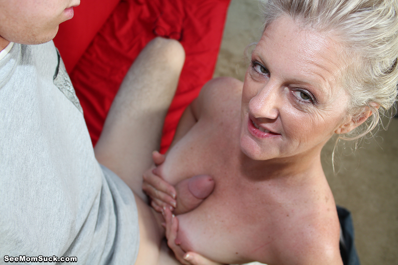 mom loves young cock