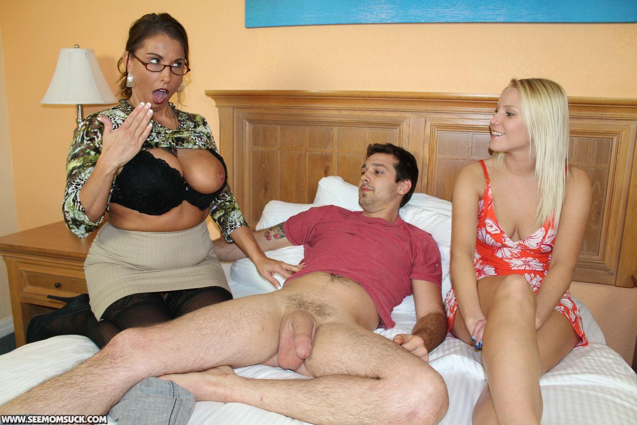 Topic, very mom sexy lingerie sucks son