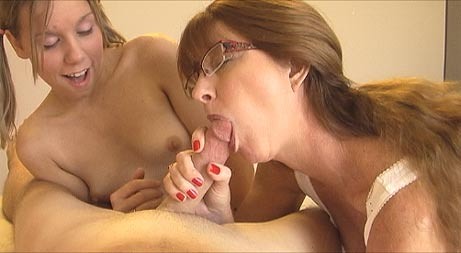 Amber raines and mom suck