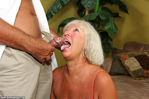 Jeannie Lou Granny Blowjob