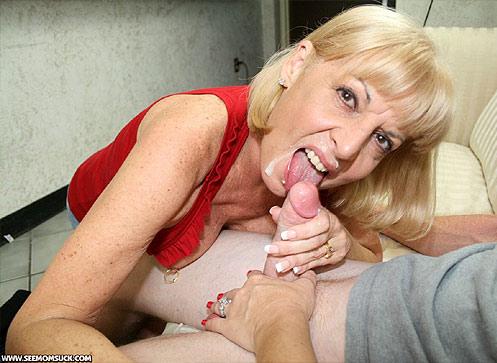 Mama Schluckt Mein Sperma