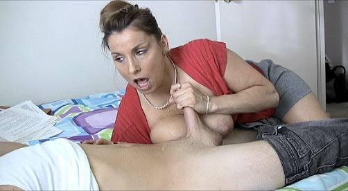 Step mom helps her get over breakup ffm - 1 part 4